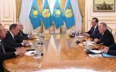 Meeting with Foreign Ministers of Guaranteeing Powers in the Astana Process on Syria