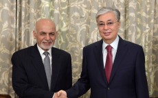 The Head of State meets President of Afghanistan Ashraf Ghani