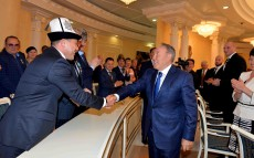 Meeting with Kostanay region's public
