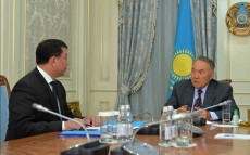 Meeting with the Director of Kazakhstan's Syrbar Foreign Intelligence Service Gabit Baizhanov