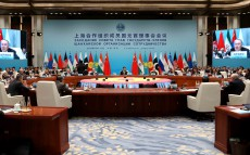 Participation in the meeting of the SCO Council of Heads of State in an expanded format